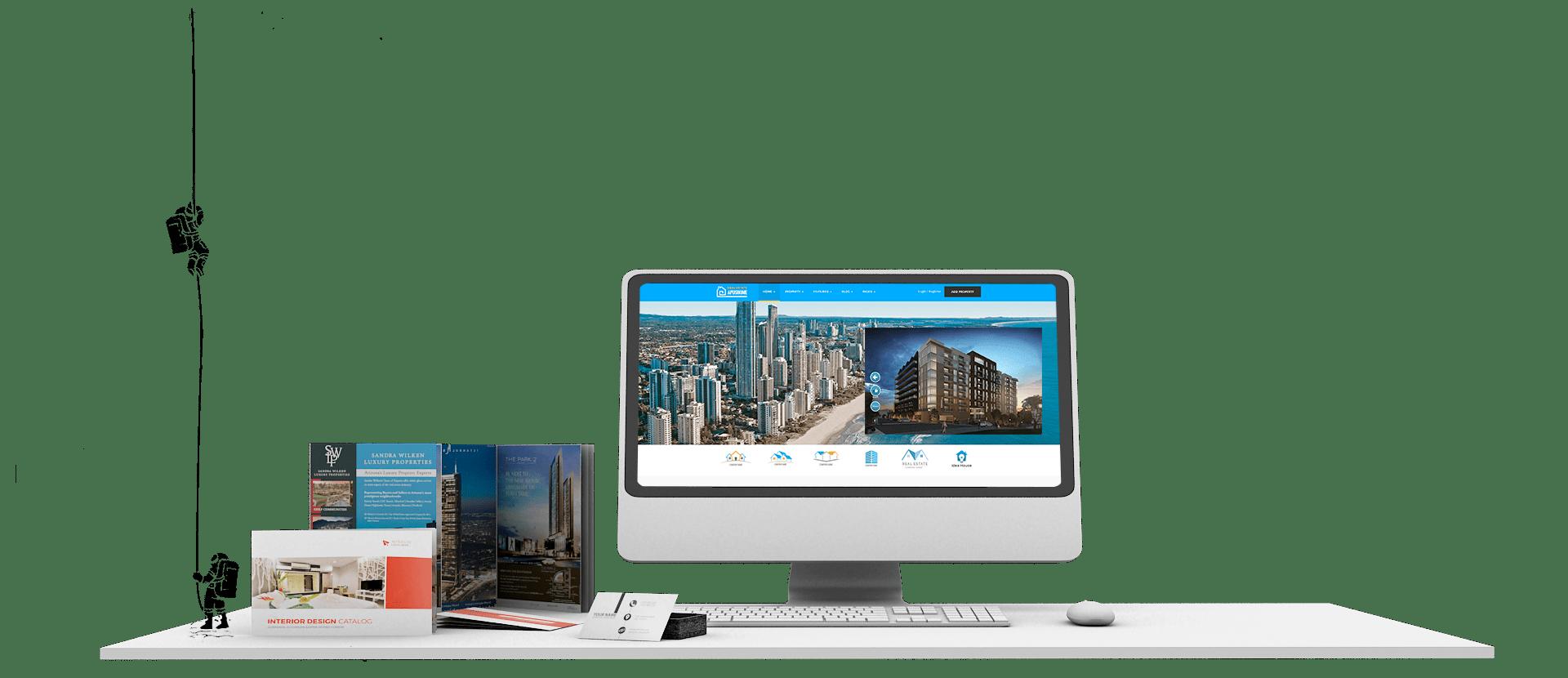 Real Estate Marketing Web Development Digital Media