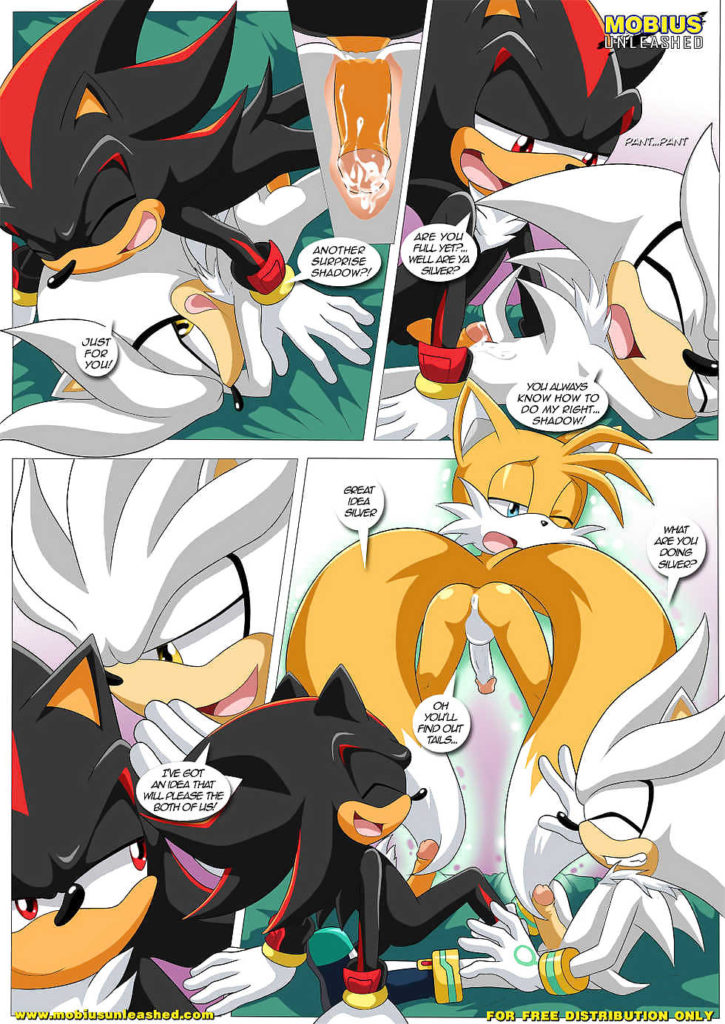 Shadow and Tails (yaoi)