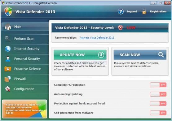 Vista Defender