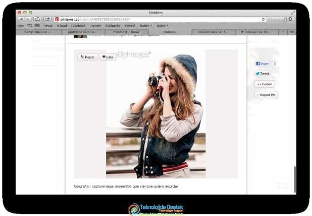 Pinterest Nedir Nasıl Kullanılır
