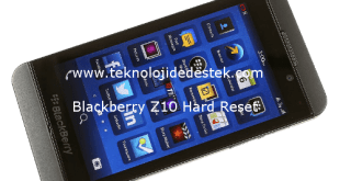 Blackberry Z10 Hard Reset 1