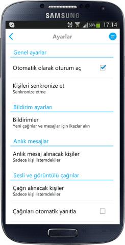 Android icin Turkce Skype (4)