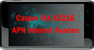 Casper VIA Internet Ayarları