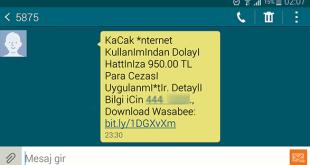 5875 ten Gelen Sahte Mesaj – Wasabee Free SMS