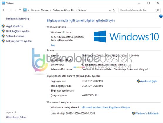 Windows 10 Sistem Geri Yukleme Nasil Yapilir 05