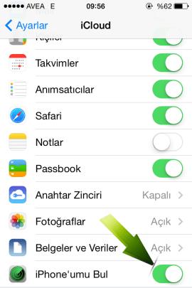 iPhone umu Bul Nasil Kapatilir 13