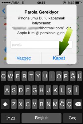 iPhone umu Bul Nasil Kapatilir 14