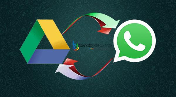 WhatsApp Google Drive, WhastApp Yedekleme, WhatsApp Sohbet Yedekleme, WhatsApp Google Drive'a Yedekleme, WhastApp Sobet Yedeği Akmak,