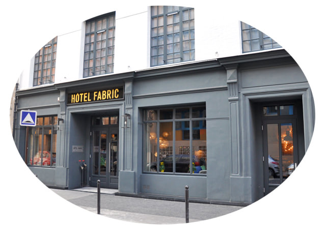 Hotel Fabric Paris