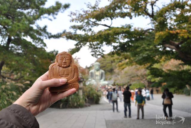 Bouddha de Kamakura en patisserie