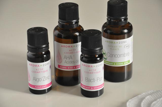 AromaZone - actifs cosmétiques