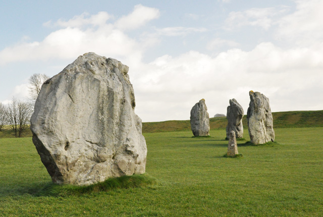 Cercle de pierres d Avebury dans le Wiltshire (2)