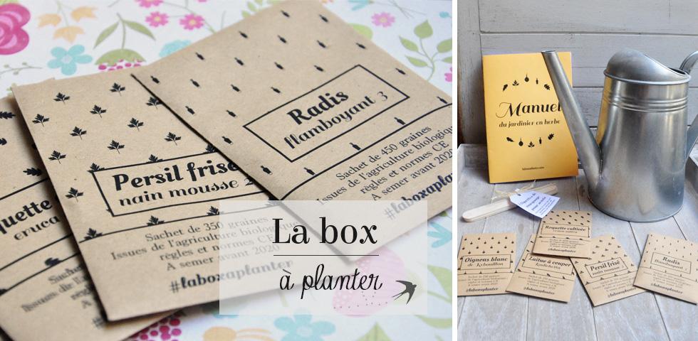 Mon avis sur la box à planter, une super box de jardinage pour les citadins souhaitant s'y mettre sur leur balcon!