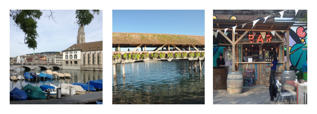 Voyage en SUisse - Le Pont de Lucerne