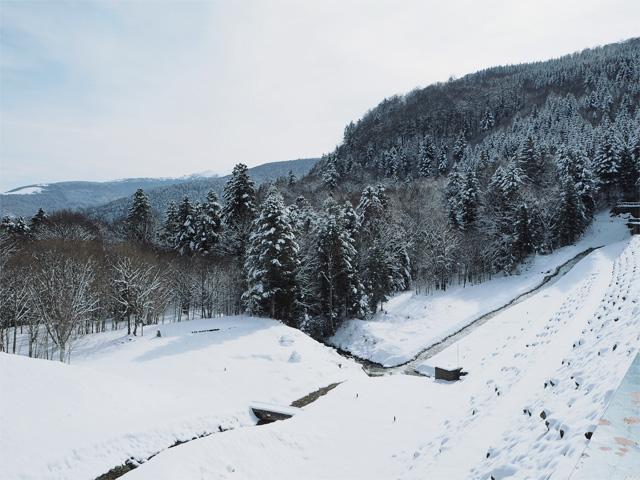 Clichés de paysages enneigés sur le blog!