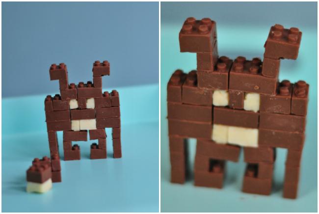 J'ai testé Chocobricks, le kit pour fabriquer des legos en chocolat