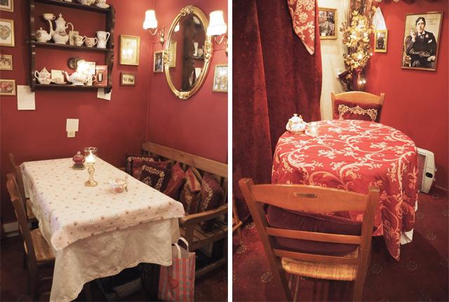 Vaisselle à fleurs - Au Fond du Jardin - Strasbourg - Adresse de Salon de thé sur le blog Birds & Bicycles