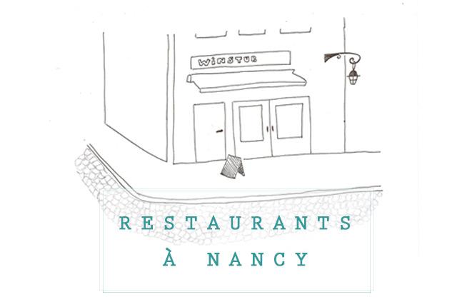 Mes adresses de restaurants à Nancy