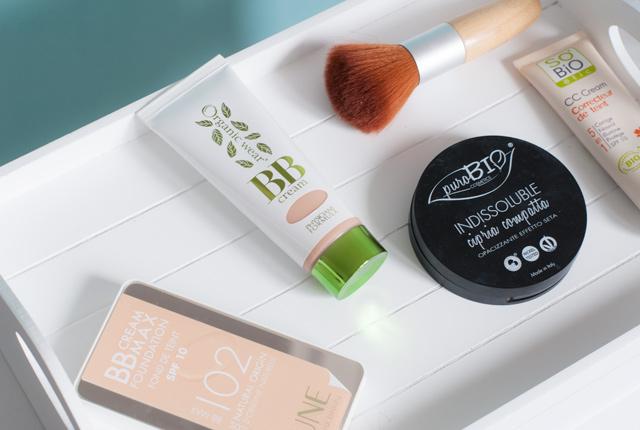 Maquillage bio: Mon avis sur des fonds de teint, BB Cream, CC Cream et poudre bio. Sur le blog de beauté bio Birds & Bicycles