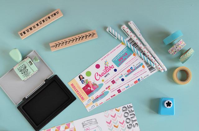 DIY Loisirs créatifs Papeterie - Creativa salon concours sur le blog lifestyle Birds and bicycles
