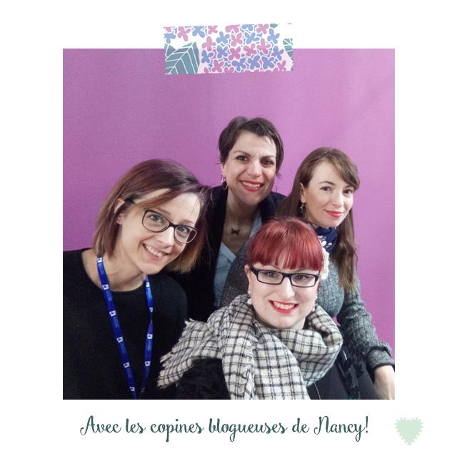 Avec les copines blogueuses de Nancy à Creativa Metz