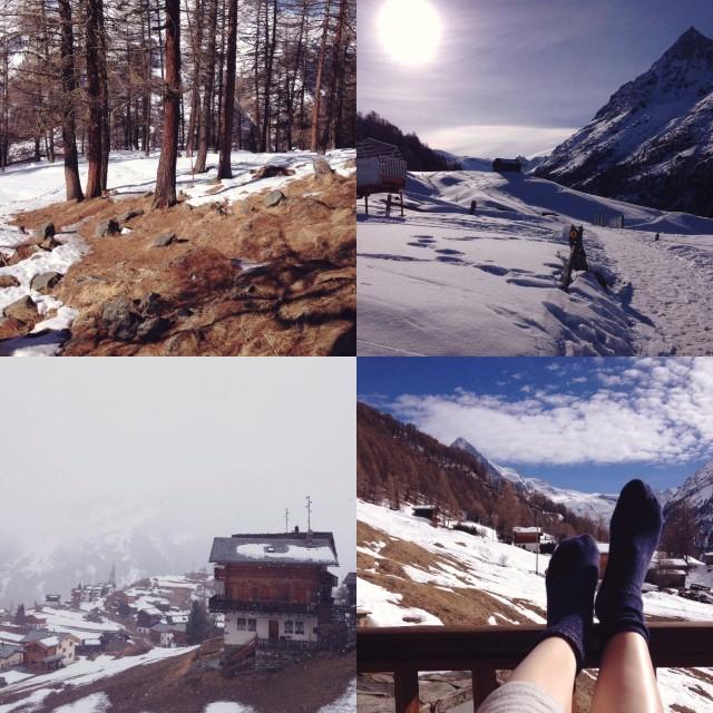 Petits bonheurs à la montagne