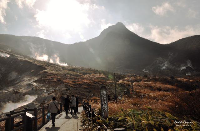 Blog voyage - Escale au Japon à Hakone! Owakudani, un paysage volcanique à voir