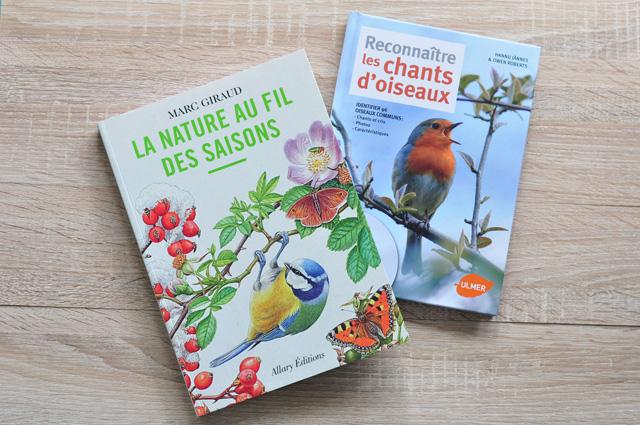 Deux jolis livres sur la nature