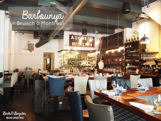Barbounay: adresse pour bruncher à Montréal