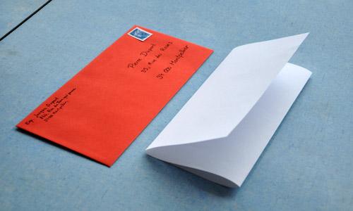enveloppe lettre france