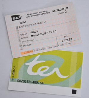 billet train francais ter