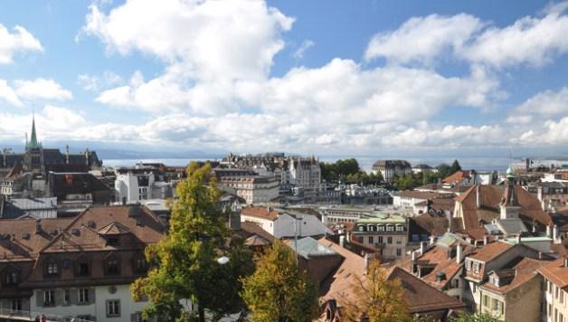 Lausanne, en Suisse
