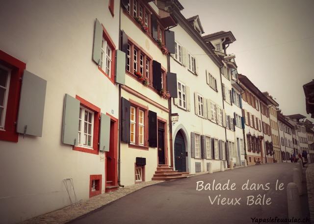 Balade à Bâle dans la vieille ville