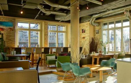 Bubble Café à Lausanne en Suisse