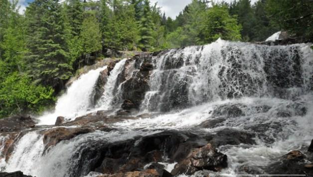 chutes de la Petite rivière Bostonnais