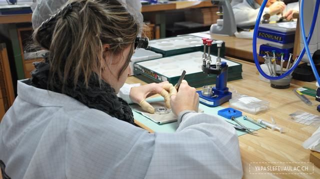 Visite d'une manufacture de montres suisses à la Chaux-de-FOnds