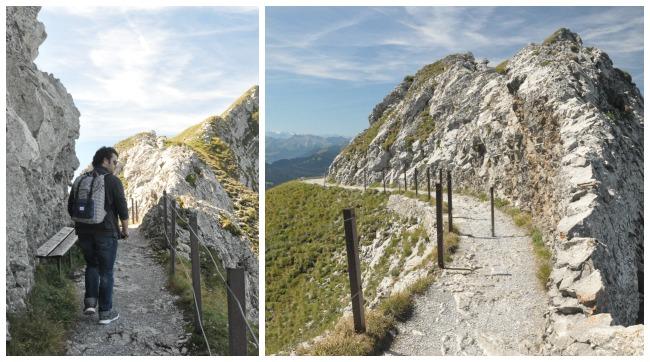 Balade dans les montagnes suisses