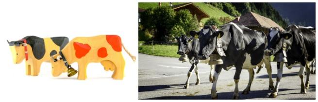 5 symboles de la Suisse