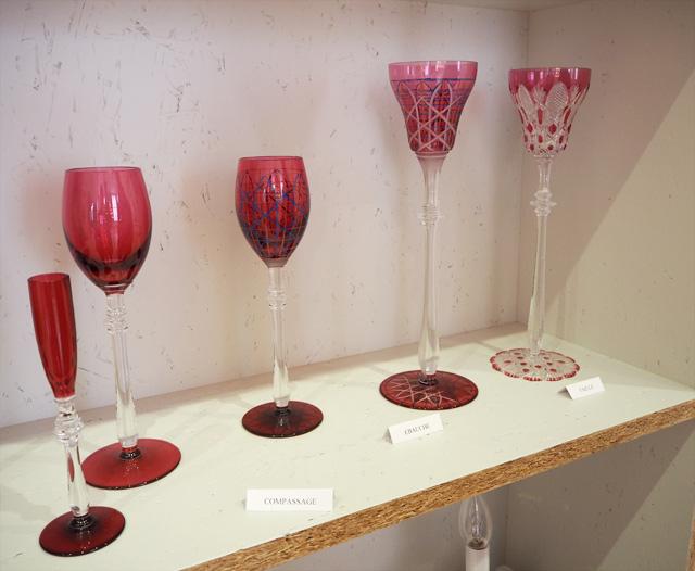 Processus de création d'un verre en cristal
