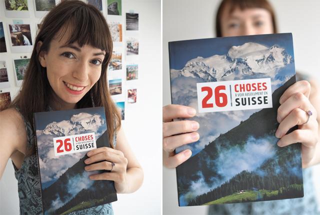 Livre 26 choses à voir absolument en Suisse