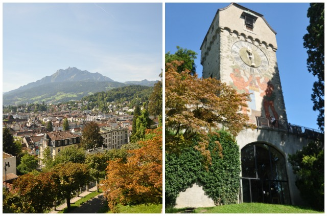 La Musegg, le mur d'enceinte de Lucerne