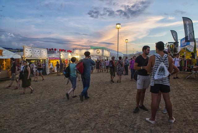 Le Paléo festival de Nyon