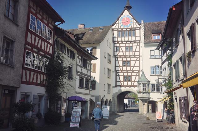 La vieille ville de Stein am Rhein - Escapade en Suisse