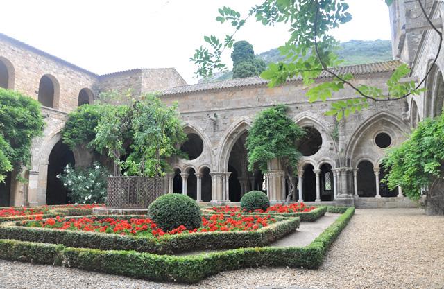 Abbaye de Fontfroide visite Aude blog voyage en France