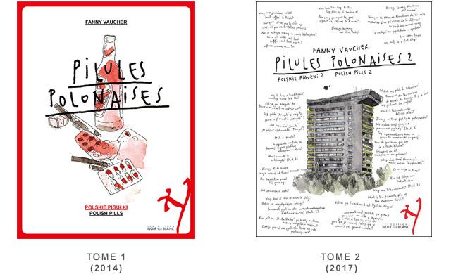Livre expatrie suisse - Fanny Vaucher Les pilules polonaises - Avis sur la BD