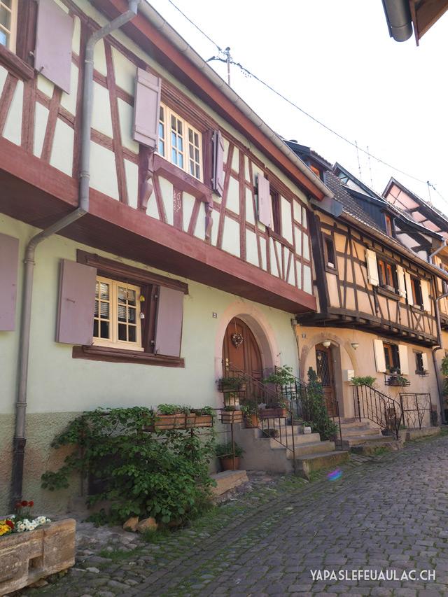 Où voir les plus beaux villages à colombages en Alsace? Ne pas rater Eguisheim!