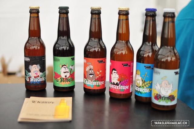 Brasserie suisse artisanale: les bières de la brasserie du Chauve