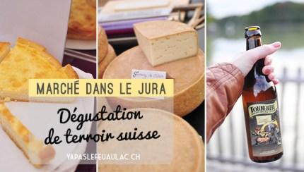 Terroir suisse: marché du concours suisse des produits du terroir dans le Jura sur le blog helvétique Yapaslefeuaulac