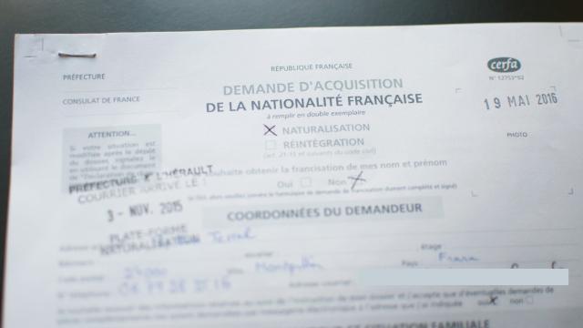 Demande de la nationalité française par un expat suisse