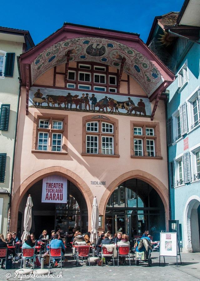 Tuchlaube Restaurant à Aarau - Crédit Yapaslefeuaulac